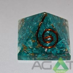 Blue Color Dyed Orgone Pyra