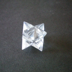 Crystal Quartz Merkaba Star
