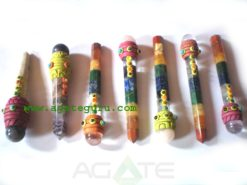 Mix Chakra Tibetan Healing Stick With Ball