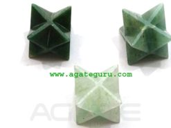 Mix Green Aventurine Merkaba Star