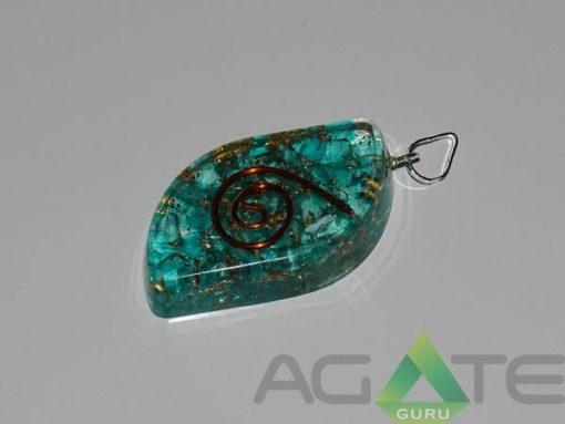 Tourquise Eye Shape Orgone