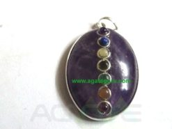 Amethyst Oval Pendent