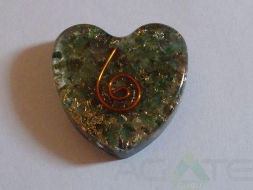 Blood Stone Heart Pendent