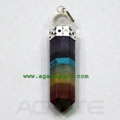 Chakra Bonded With Crystal Ball Pendant
