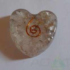 Crystal Orgone Heart Pendent