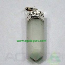 Crystal Quartz Pencil Pendent