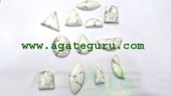 Howlite-Cabochons-Mix-Shape