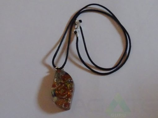 Mix Chakra Orgone Eye Pendent With Cord