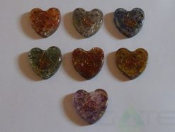Orgone Paper Weight Heart Shape