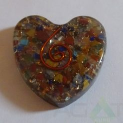 Mix Orgone Heart Pendent