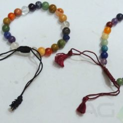 Mix Stone Bracelets With String