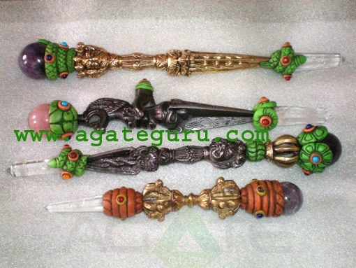 Mix Tibetan Healing Stick & Wands Lot