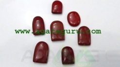 RED JASPER CABACHONES MIX SHAPE & SIZE