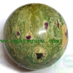 Ruby Fuscite Ball Spheres Wholesaler Manufacturer