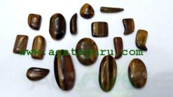 Tiger Eye cabochon mix shape & size