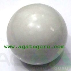 White Agate Spheres Wholesaler Manufacturer