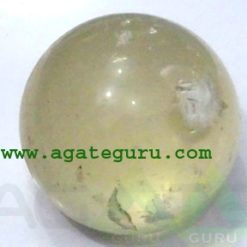 Yellow Calcite Spheres Wholesaler Manufacturer