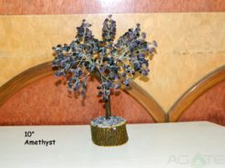 Amethyst 1000beads Gemstone Tree