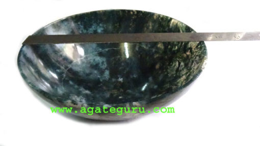 Moss Agate 9inche Bowls