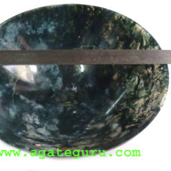 Moss Agate Bowls.