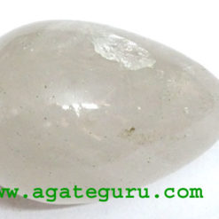 CRYSTAL QUARTZ EGGS,