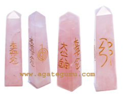 Rose Quartz Usai Reiki Healing Point