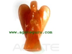 Orange Aventurine Angels