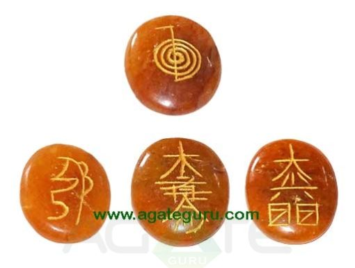 Red Aventurine Reiki Oval Sets
