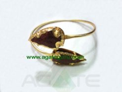 Sun stone Arrowhead Bangle