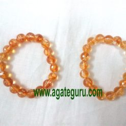 Citrine-Stone-Faceted-Brace