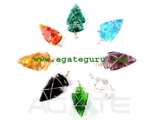 Colorful-Wire-Wrap-Arrowhea