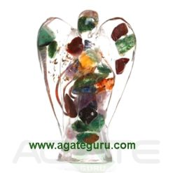 Mix Gemstone Orgonite, (2)