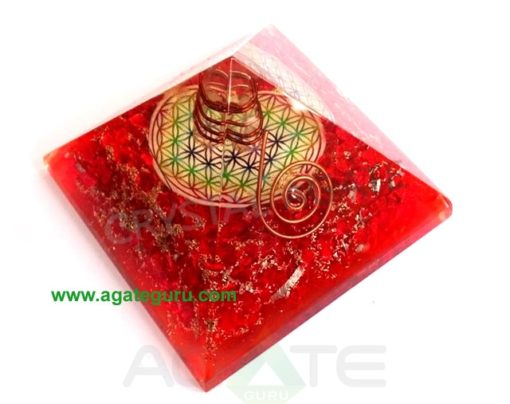 Big-Orgonite-Chakra-Red-Pyramid-With-Flower-Of-Life-Symbol-And-Crystal-Point