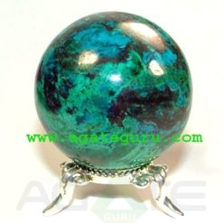 Chrysocolla Sphere : Gemstone Balls Wholesaler Manufacturer