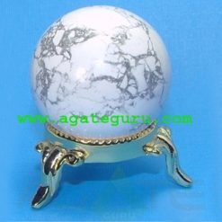 Howlite Ball Sphere : Gemstone Balls Wholesaler Manufacturer