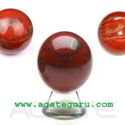 Red Jasper Crystal Sphere