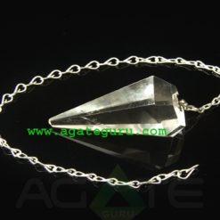Crystal Quartz Pendulum Dowser