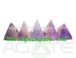 Amethyst Crystal Pyramids : Wholesale Pyramids Khambhat Supplier