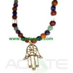 Fengshui 7 Chakra Yoga Necklace : India wholesaler Manufacturer