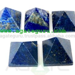 Lapis lazule pyramid | Wholesale Pyramids Khambhat Supplier