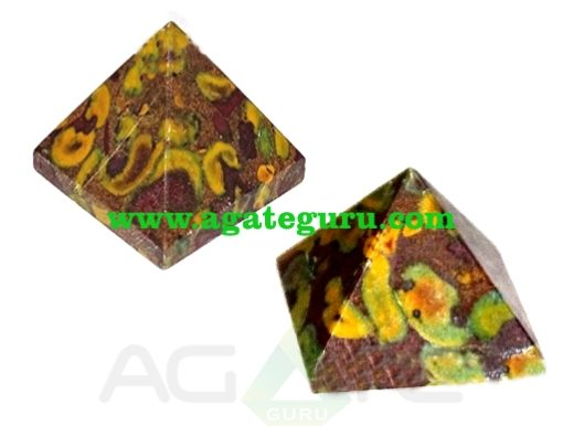 Ocean Jasper Pyramid Manufacturer : Wholesale Gemstone buy
