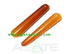 Orange Aventurine : Latest New Age Collection : Smooth massage wands