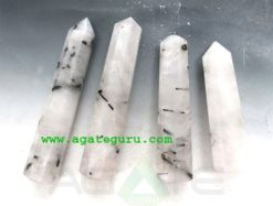 Rainbow Moonstone massage wands : Wholesale Gemstone Healing Massage Wands