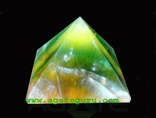Rainbow fluorite pyramids : Wholesale Pyramids Khambhat Supplier