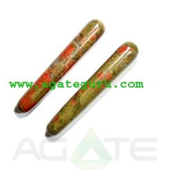 Unakite : Wholesale Gemstone Massage Wands