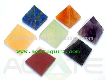 Wholesale Mix Gemstone Pyramids
