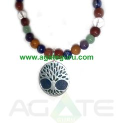 life Of Flower 7 Chakra Necklace : India wholesaler Manufacturer
