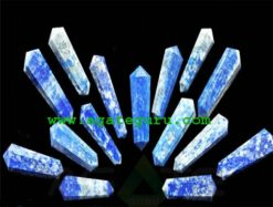 Lapis Lazuli 12 Cut Double Terminated Massage Wands : india massage wand wholesaler