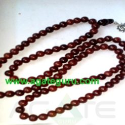Sandal wood beads with sun goddes jaap mala