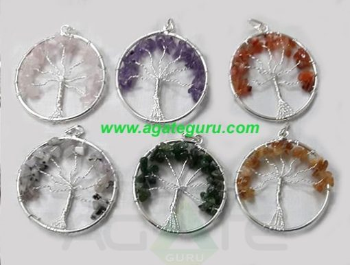 Life Of Flower Chakra Pendents